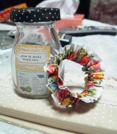 还在为找不到喜欢的花色而烦恼?纸胶带让你手作饰品不求人