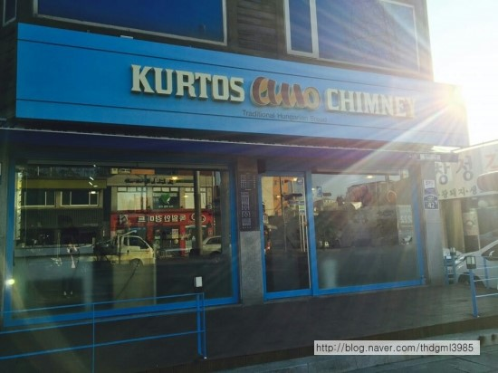 跟姊妹一起分食刚刚好!韩国也有超人气匈牙利烟囱捲「Kurtos chimney」