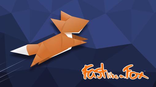 轻点手机背就能让狐狸跑起来?疗癒跑跑手游《Fast like a fox》
