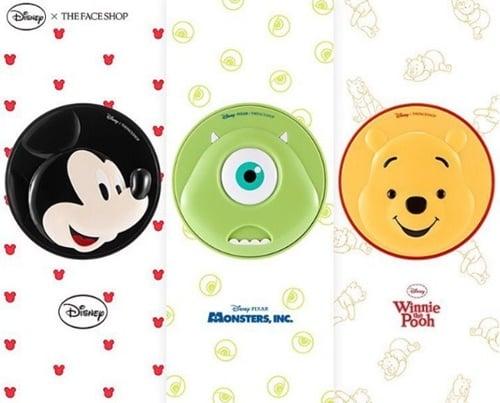 The Face Shop×迪士尼联手推出美妆新品!3个角色陪你漂亮每一天