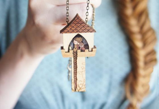 《小锡兵》的爱情故事完美重现!一条就是一则童话的「3D木製项鍊」