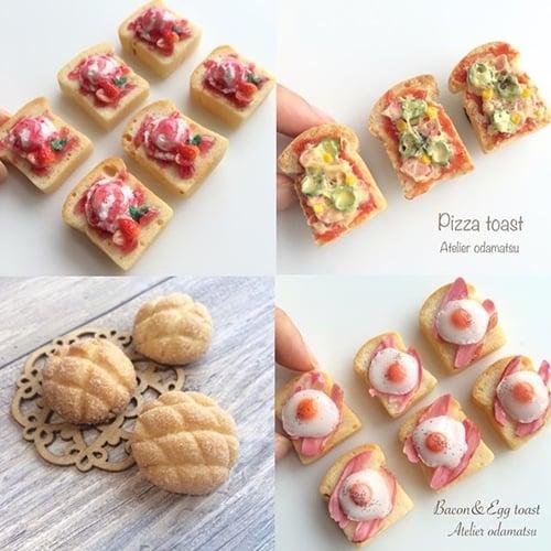 真的可以吃的吐司胸针?手作达人的拟真麵包工坊开张啦!