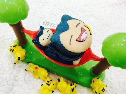 皮卡丘cosplay呆河马变身甜点!韩国缤纷神奇宝贝马卡龙特辑