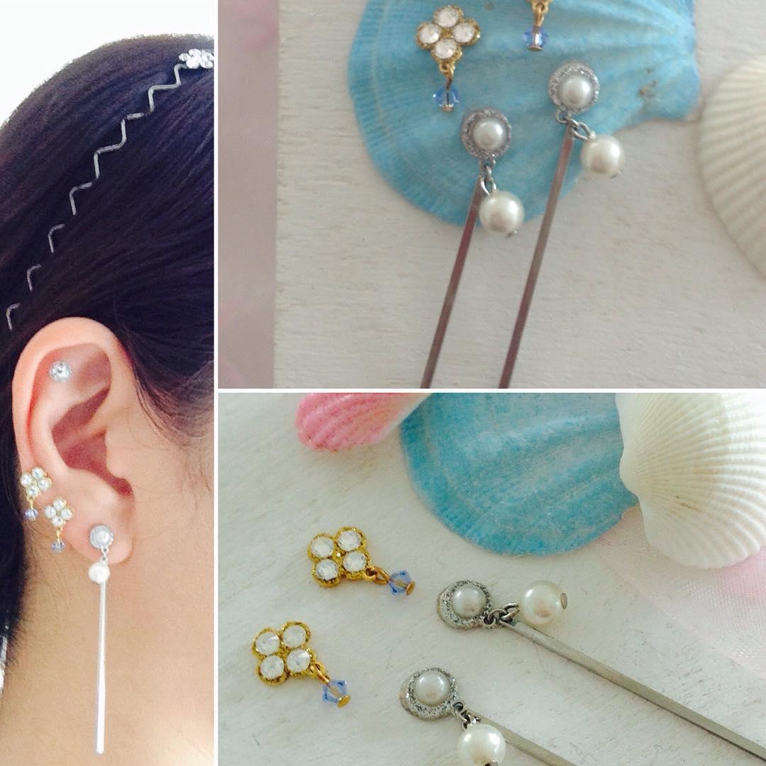 女孩小时候必戴的「贴纸耳环」大进化!精緻度大升级每款都想要啊