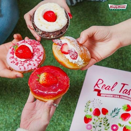 派大星甜甜圈太犯规啦!韩国Krispy Kreme被海绵宝宝佔领