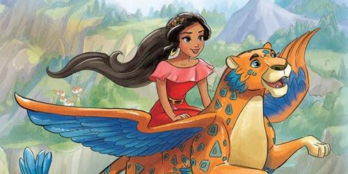 拥有神秘座骑的迪士尼新公主!近百年来首位拉丁裔美少女Elena