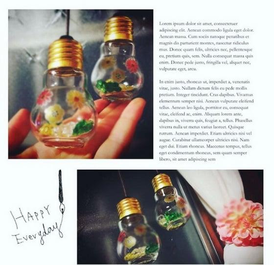日本话题小物「灯泡瓶」让你装一装、贴一贴就能get高质感装饰