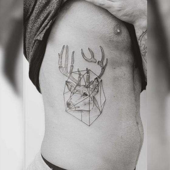 就像是将现代艺术刺在身上!游走在梦幻与现实之间的迷幻系刺青