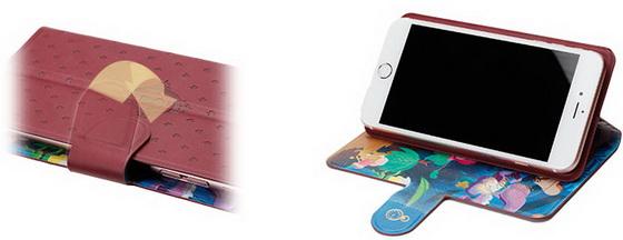 看腻正面还能翻面用!迪士尼经典梦幻场景2way手机壳