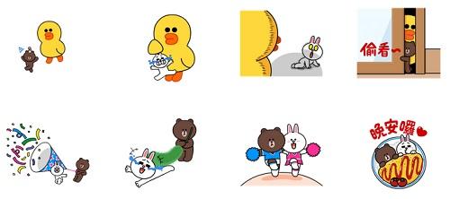 是谁把他们变得这么小只?和贴图《熊大&兔兔迷你篇》一起盖蛋包饭被被吧!