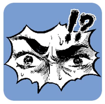隔着萤幕也能感受到一股寒意…让眼睛来帮你说话的漫画眼神贴图登场!