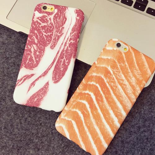 是刚逛完生鲜超市出来?肉食系女子专属的肉类手机壳特蒐