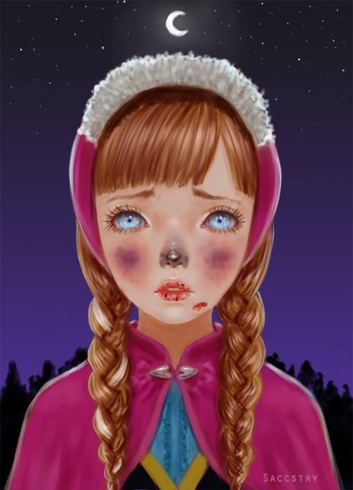 粉红泡泡与残忍酷刑的唯美冲突!死之少女Saccstry异想世界