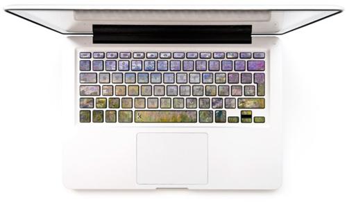 把电脑键盘也变成梵谷名画吧?让你每天办公都有好心情的3C週边特辑
