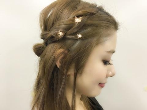 就像头上开出朵朵小花!梦幻与浪漫感兼具的「耳环髮饰」特蒐