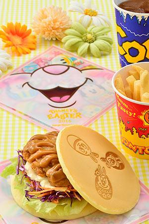 史迪奇也变身圆滚滚萌彩蛋惹!东京迪士尼复活节限定菜单&周边亮相