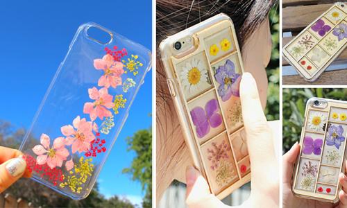 满树鲜花在手机盛开!快装上压花手机壳让仙气指数飙升吧!
