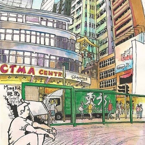下一瞬间可能就消失的风貌 捕捉在地小故事的香港城市速写