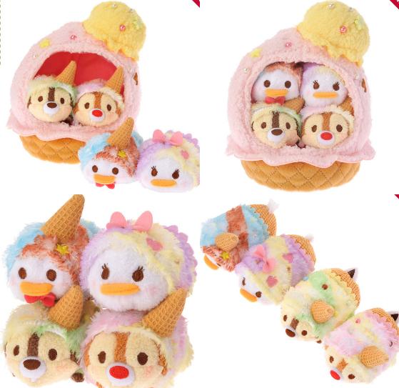 奇奇蒂蒂带着甜筒小帽蹓跶去!「TSUM TSUM冰淇淋」系列周边甜蜜登场