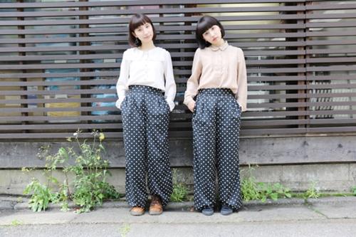 不撞衫又吸睛的好姊妹穿搭 让日本双胞胎模特儿谷奥姊妹来教你!