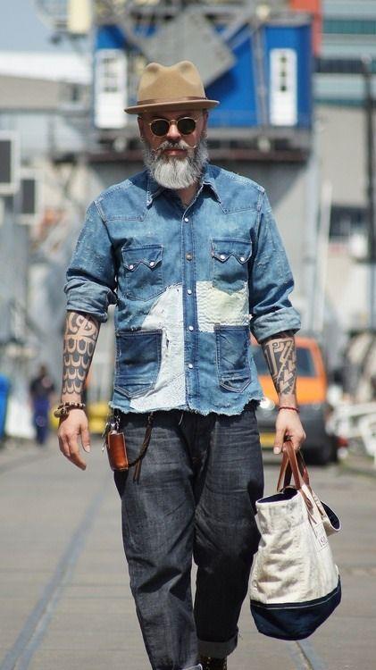 年纪是什么,可以吃吗?时尚度不比年轻人差的银髮族时尚街拍