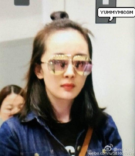 女神杨幂的死穴竟然是髮线?!网友毒舌:「这是要秃头了…」