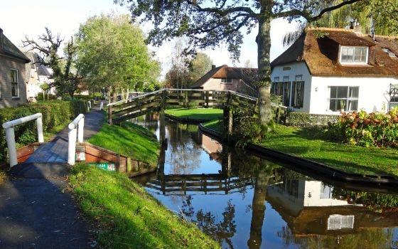 是误入了哪个童话场景吗?一生中一定得去的荷兰小镇-羊角村