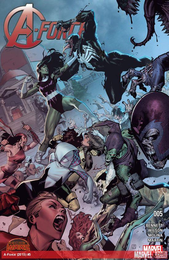 原来绿巨人的表妹也是女绿巨人?漫威推出女版复仇者联盟《A Force》