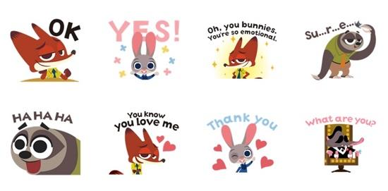 欢乐动物们一把抓!《动物方城市动态贴图》兔子茱蒂、狐狸尼克通通底家啦