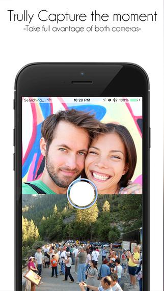 5/16限时免费App特辑:前后镜头一起拍!自拍或风景照按一下通通搞定