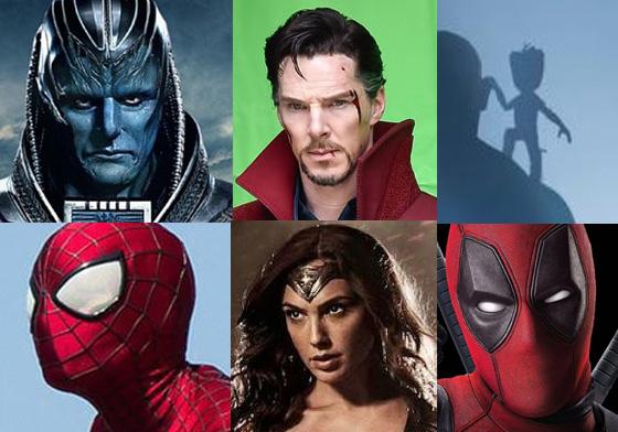 英雄迷的钱包都在哭泣了…10部即将上映的英雄片