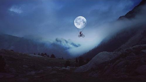 如果我能披星戴月的话 彷彿小人闯进童话世界般的摄影创作