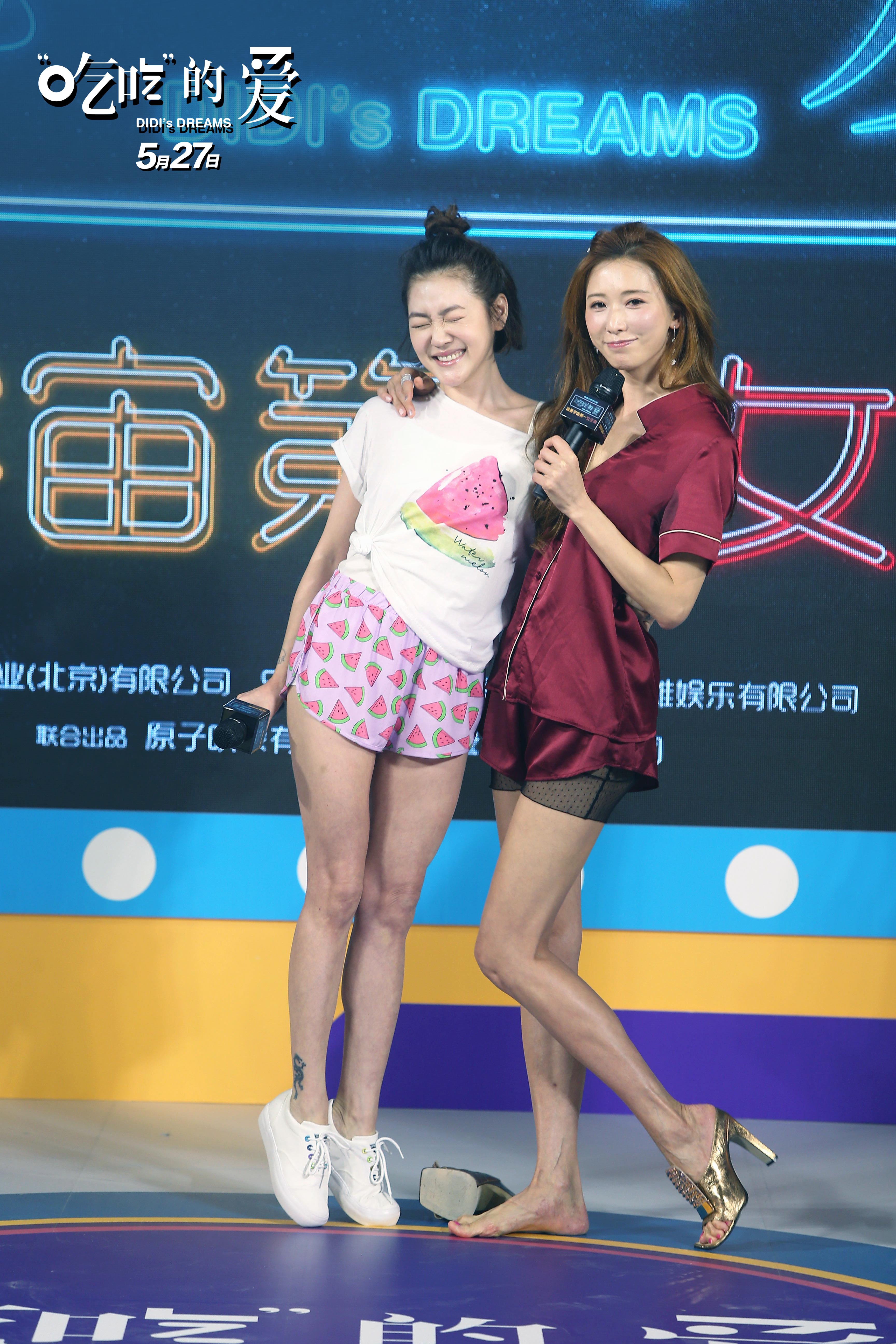 从康熙闹到片场!林志玲在电影《吃吃的爱》大赏小S巴掌复仇成功?