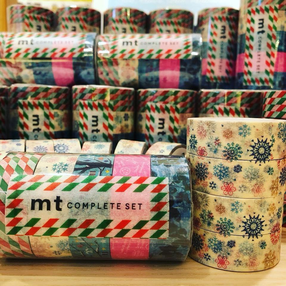 文具控的圣诞礼物怎么选?圣诞老公公纸胶带会从烟囱掉下来吗?