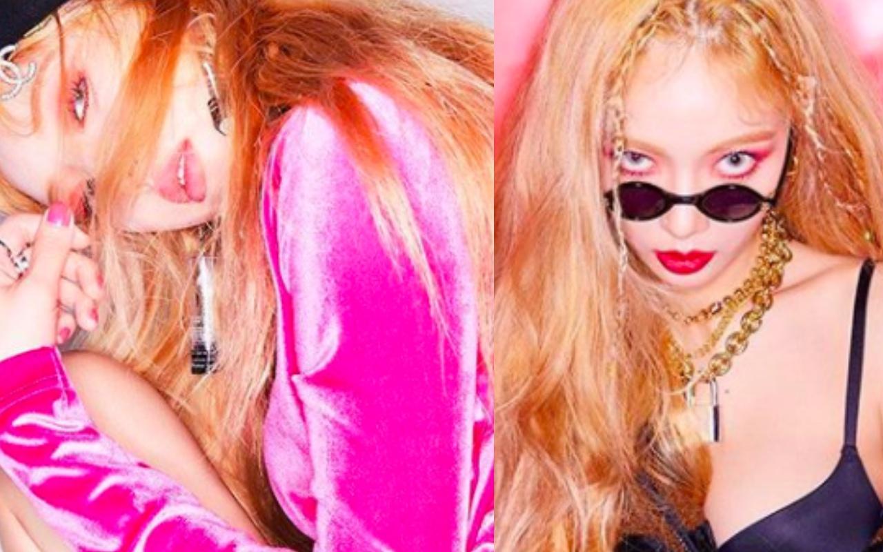 不用再买眼影了,其实用唇釉也能打造泫雅性感MV《Lip&Hip》红色眼妆