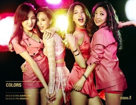 4人仅剩2人续约!JYP宣布miss A正式解散