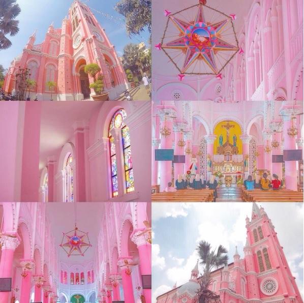 喚起每個女生的公主夢!宛如童話世界的超夢幻粉紅色教堂