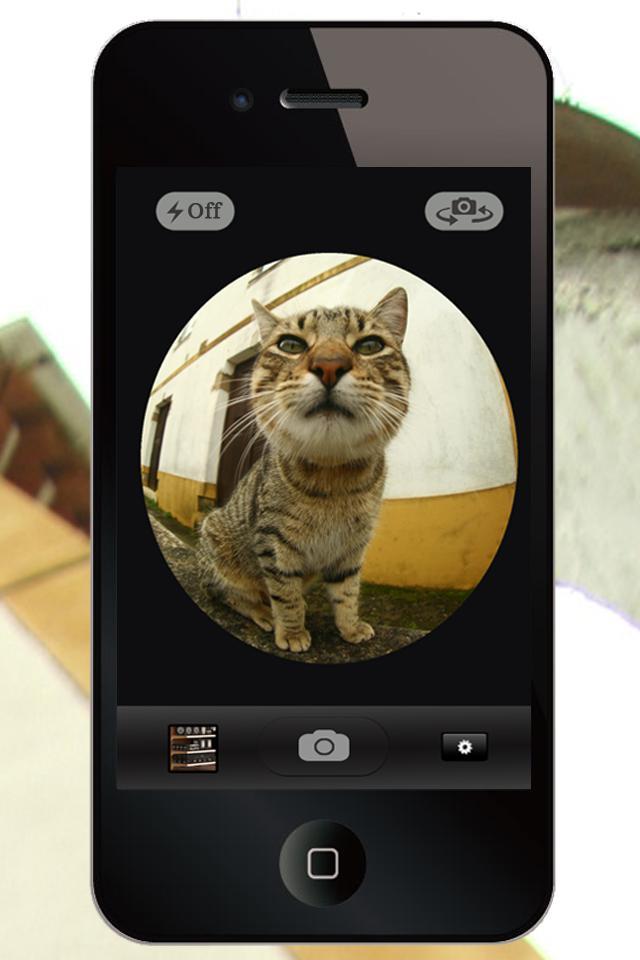 фото приложение рыбий глаз на айфон того, отдельным