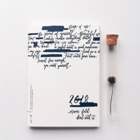 超美英文草写一秒拥有的文青手帐!没用过就落伍的子弹笔记一次全公开