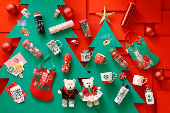 抢先看!日本STARBUCKS即将开始贩售圣诞限定商品,出发去日本的你准备手刀冲去购买吧〜