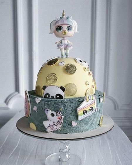 """死侍啾咪蛋糕想吃吗?俄甜点师""""神立体 """"蛋糕打造女孩异想世界"""