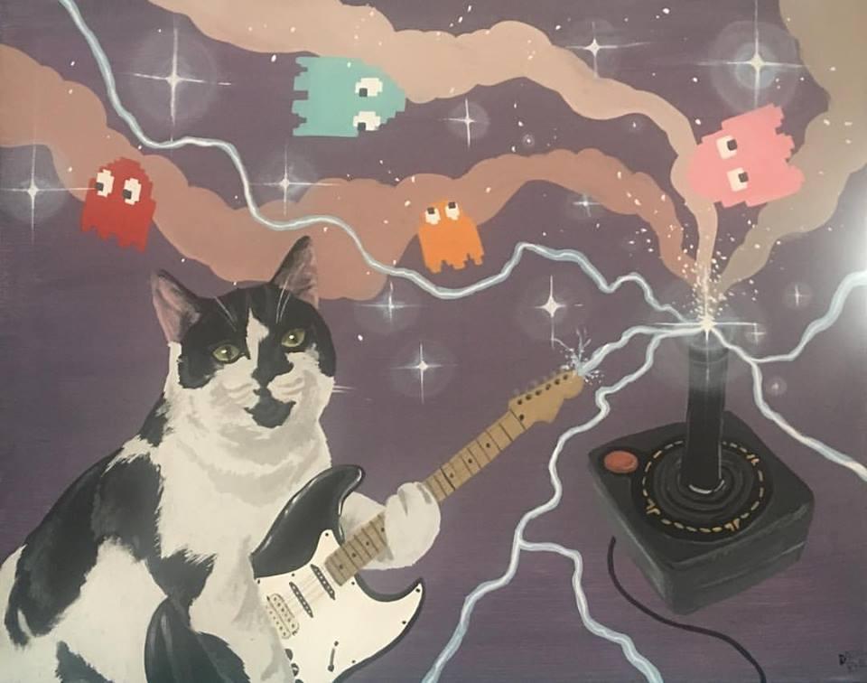 欢迎来到猫奴的异想世界!插画家Danial Ryan的超现实创作