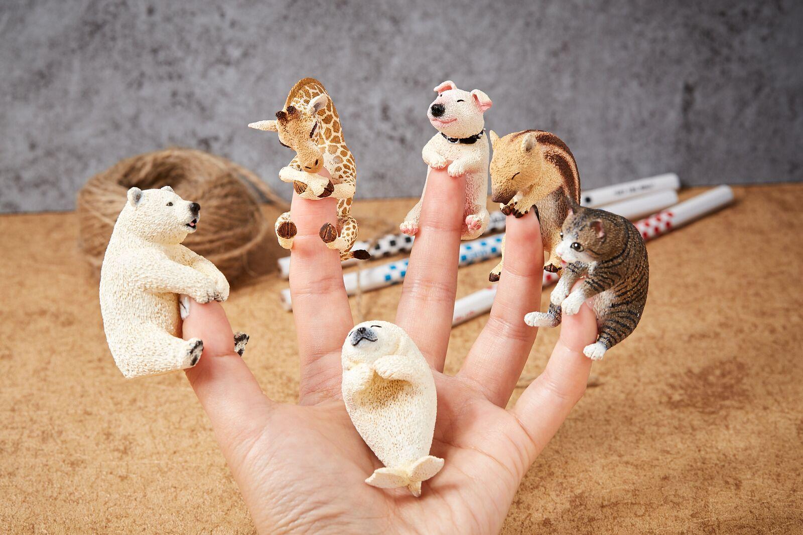 就是要趴在手指头上撒娇!「Animal Life:Baby Hug」扭蛋抱紧你的心