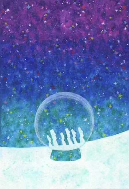 讓靈魂放鬆到外太空的玻璃小屋!「克里斯多奇幻森林」插畫展療癒限定