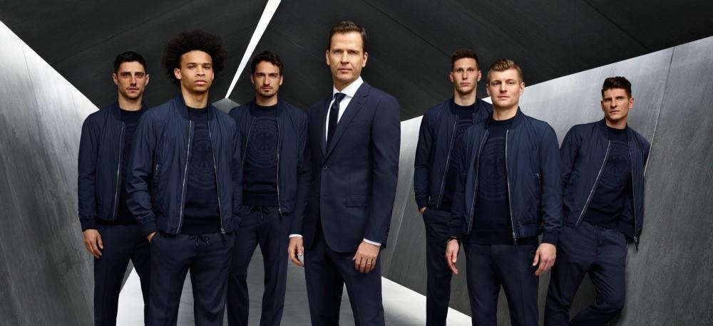 颜值高到让人忘记他们是来踢球的男模团!世足德国队帅气登场!