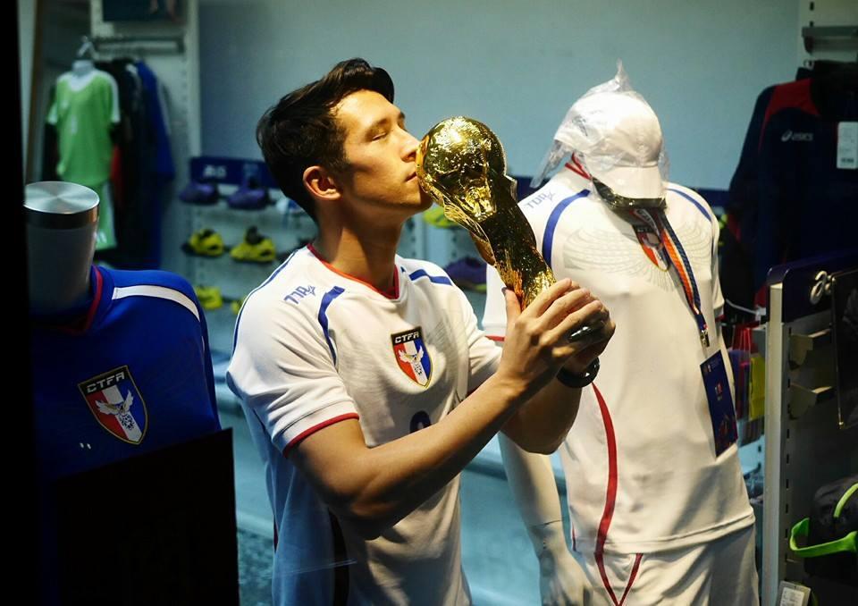 身上背钢钉也要踢!台湾省最接近世界盃的男人是他!