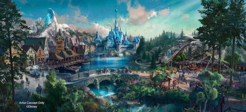 2021年全新《冰雪奇缘》主题区要来啰!香港迪士尼乐园扩展计划公开