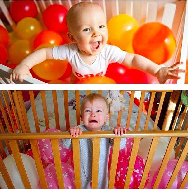 你还以为事情有那么容易?婴儿摄影的幻想 vs. 现实