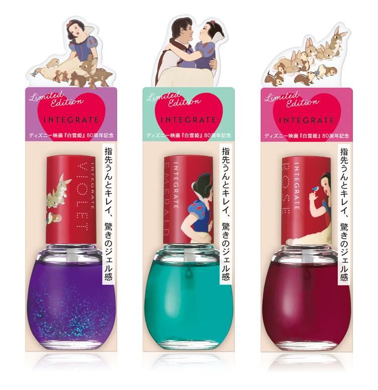 白雪公主出香水!?日本INTEGRATE推出超梦幻「白雪公主」系列