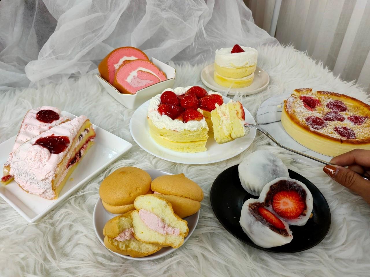皮卡堂草莓蛋糕床_全聯草莓大量發生中!鬆軟卡士達蛋糕不能錯過,草莓季讓空氣 ...
